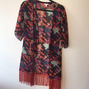 Lularoe Monroe kimono size small